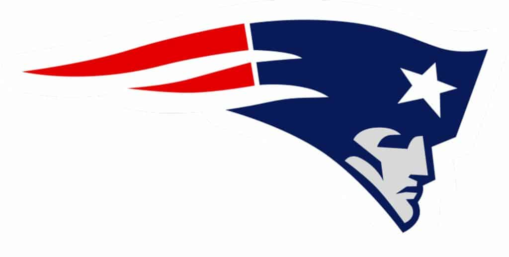 Color in Web Design and Logos – The New England Patriots logo – patriotism, with their red white, and blue logo
