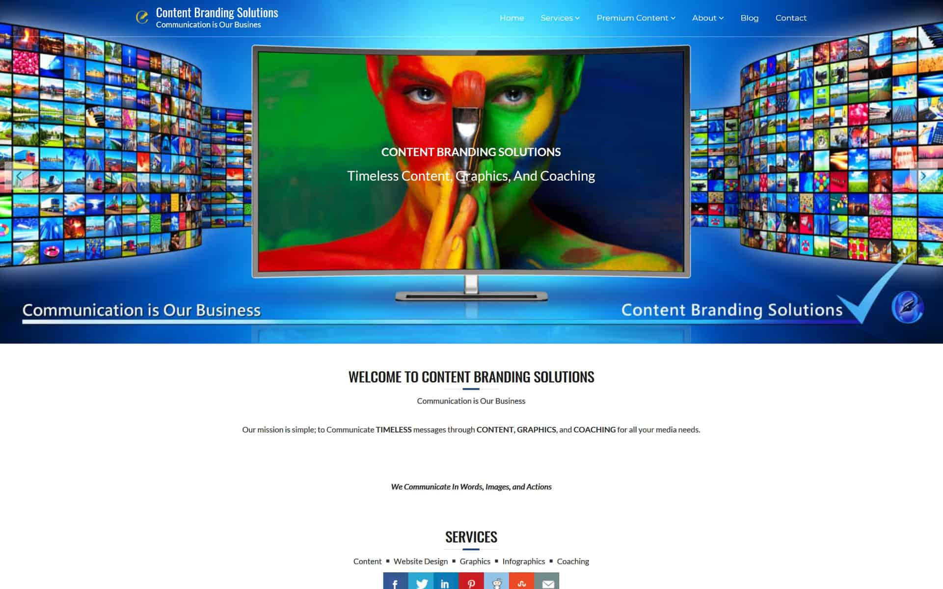 Content Branding Solution - Website Design, Content, Images and Graphics by Content Branding Solutions in Denver