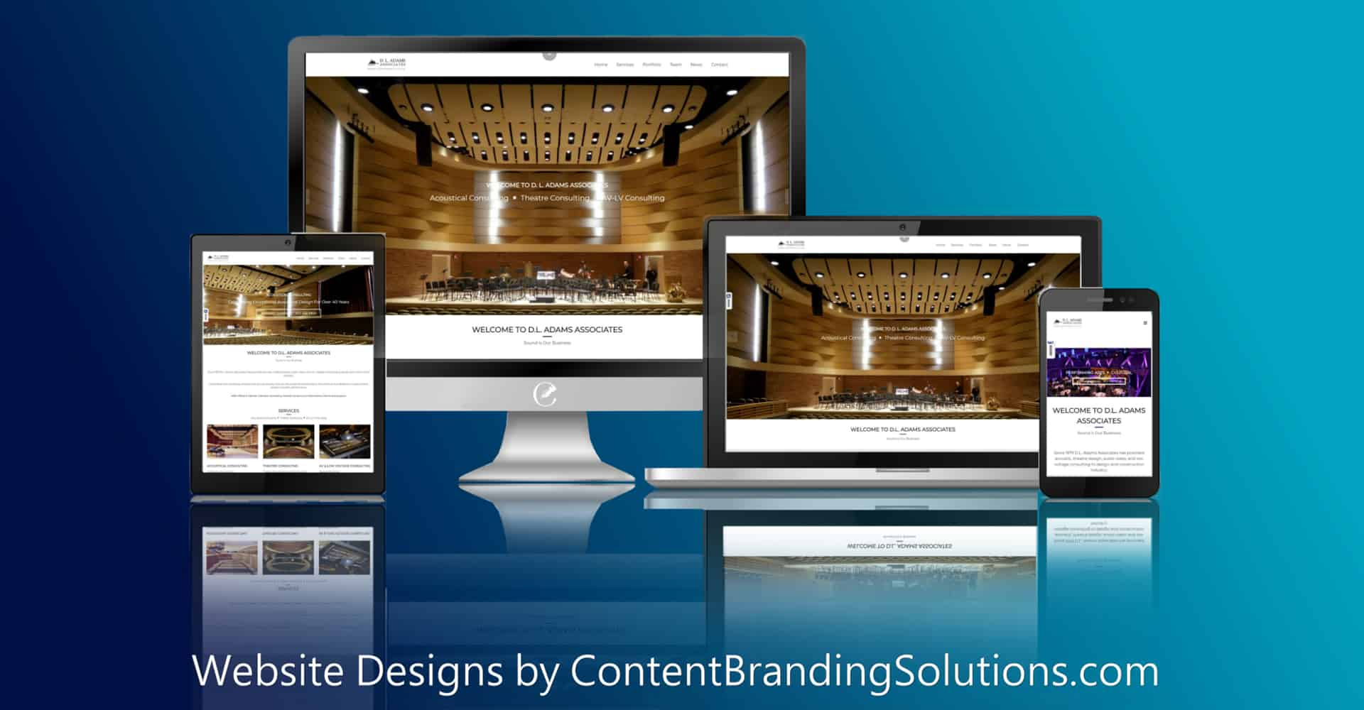 Creative Website Design | Content Branding Solutions
