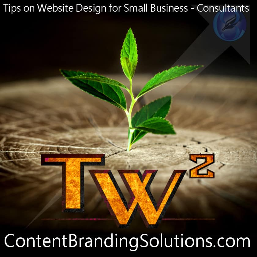 A tree growing out of a tree stump - Websites Design tips for Small Business & Independent Consultants from Craftsmen who produce functional art to Lawyers and their books by Content Branding Solutions