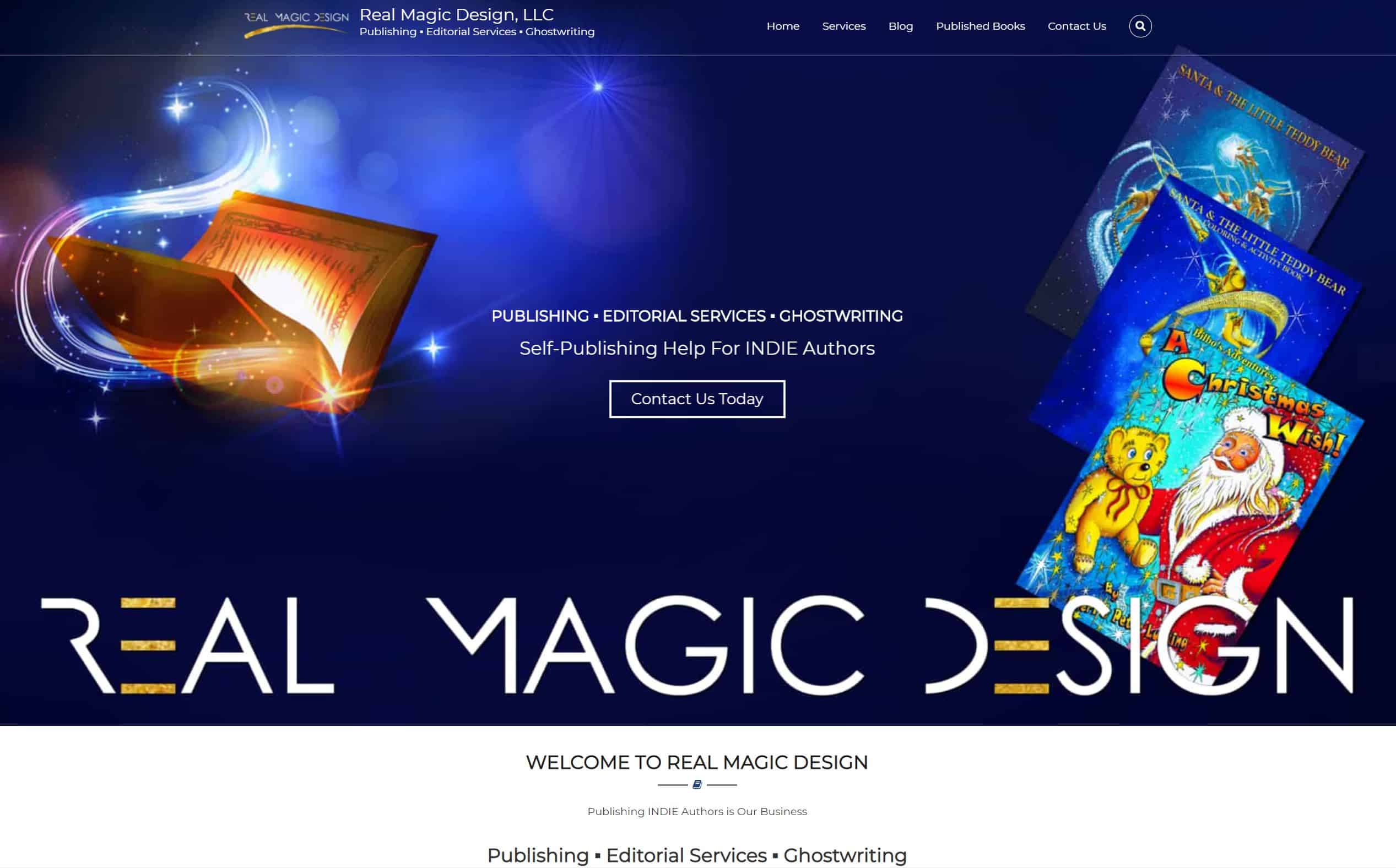 Real Magic Design, LLC - Childrens Books