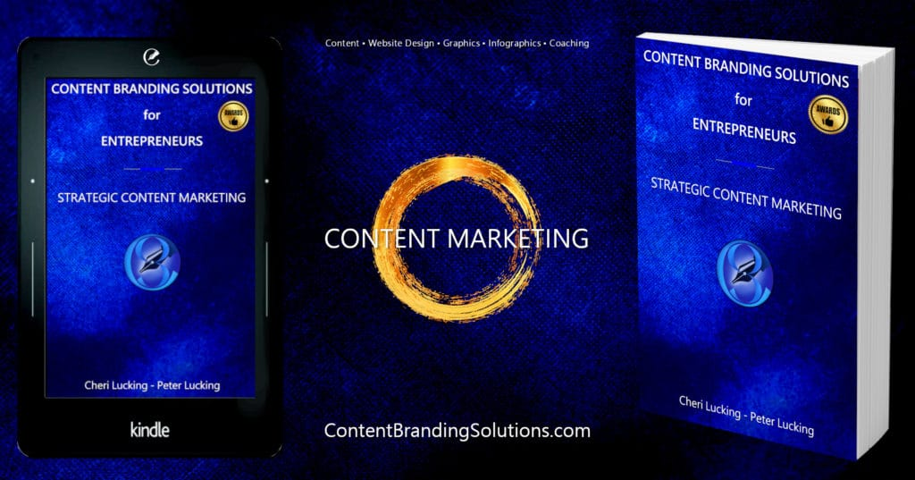 Content Branding for Entrepreneurs - Strategic Content Marketing a New Book, eBook, Kindle by Cheri Lucking and Peter Lucking on FULL CIRCLE MARKETING CONTENT MARKETING