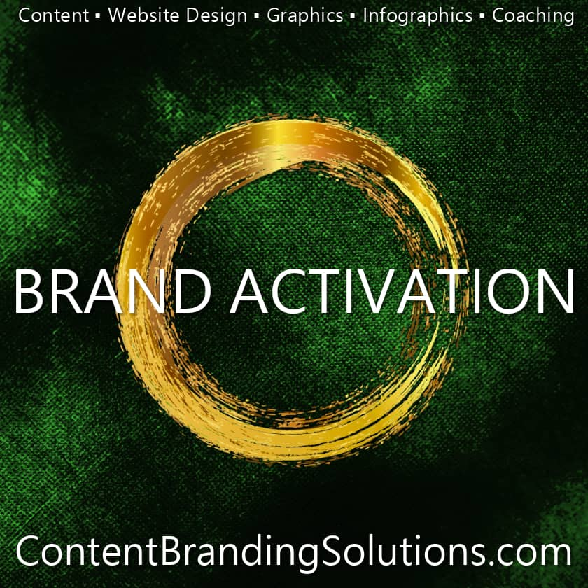 Brand Activation - Excerpt from Content Branding Solutions for Entrepreneurs - Strategic Content Marketing a New Book, eBook, Kindle by Cheri Lucking and Peter Lucking –Available on amazon