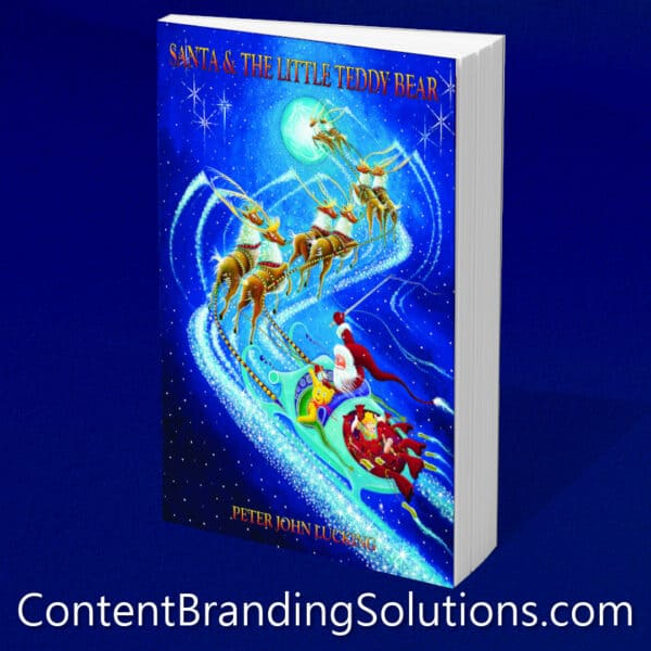 Buy The Hardcover Collectible Book - Santa and The Little Teddy Bear, by Peter Lucking The 2011 INDIE Excellence Holiday Book Winner and 2011 INDIE Excellence Book Cover Design-Children-Finalist, is sure to delight.